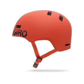 Giro Section Helm matte glowing red